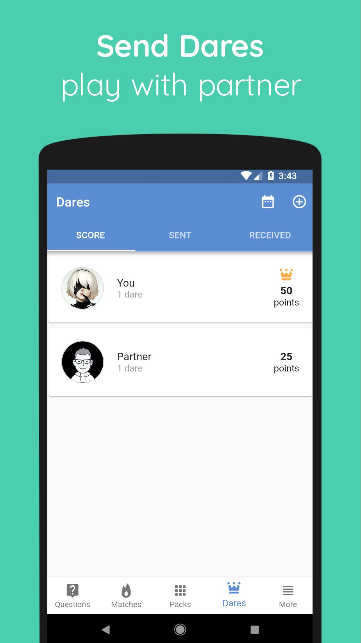 Sex partner tracker app